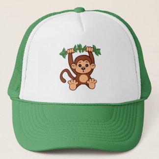 Chapéu bonito do macaco dos desenhos animados boné
