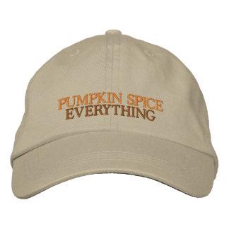 Chapéu bordado ajustável de Everythin da Boné Bordado