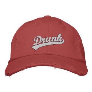 Chapéu bordado bebado boné bordado