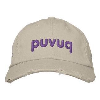 chapéu bordado boné afligido linhas do puvuq