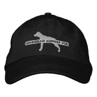 Chapéu bordado cão do leopardo de Catahoula da sil Boné Bordado