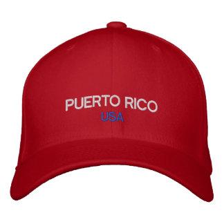 Chapéu bordado costume de Puerto Rico EUA Boné