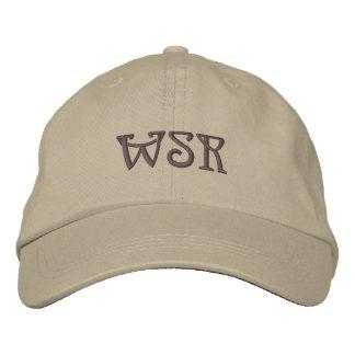 Chapéu bordado costume do monograma boné bordado