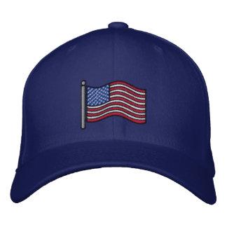 Chapéu bordado da bandeira americana boné bordado