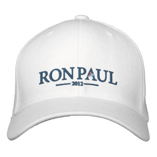 Chapéu bordado de Ron Paul 2012 Boné