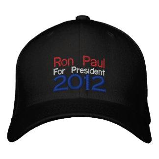 Chapéu bordado de Ron Paul 2012 Boné Bordado