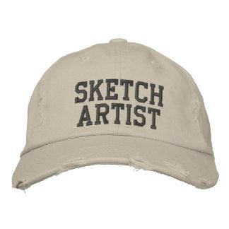 Chapéu bordado do artista de esboço boné bordado