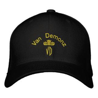 Chapéu bordado edição de Van Demonz Ouro Boné Bordado