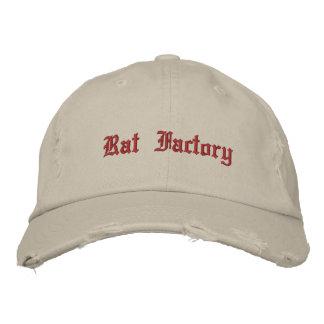 Chapéu bordado fábrica do rato boné bordado
