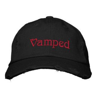 Chapéu bordado gótico Vamped Boné Bordado
