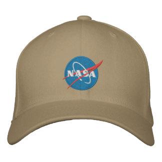 Chapéu bordado logotipo da NASA Boné Bordado