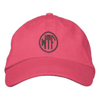 Chapéu bordado monograma de WTF Personalizable Boné Bordado