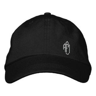 Chapéu bordado Monogrammed das senhoras Boné Bordado