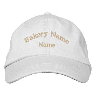 Chapéu bordado nome da padaria boné bordado