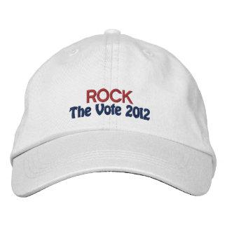 Chapéu bordado personalizado do dia de eleição bones