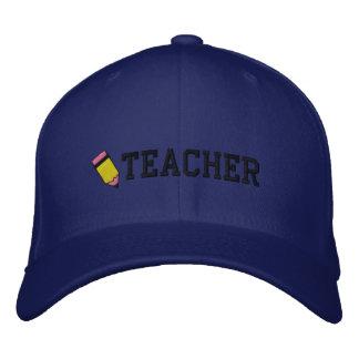 Chapéu bordado professor boné bordado