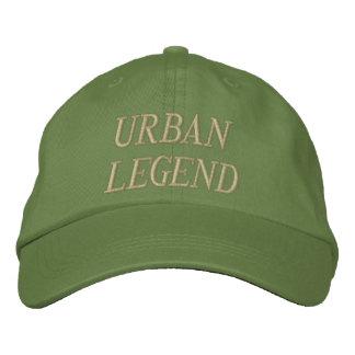 Chapéu bordado urban legend boné bordado