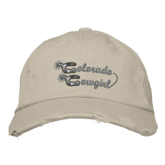 Chapéu bordado vaqueira de Colorado Boné Bordado