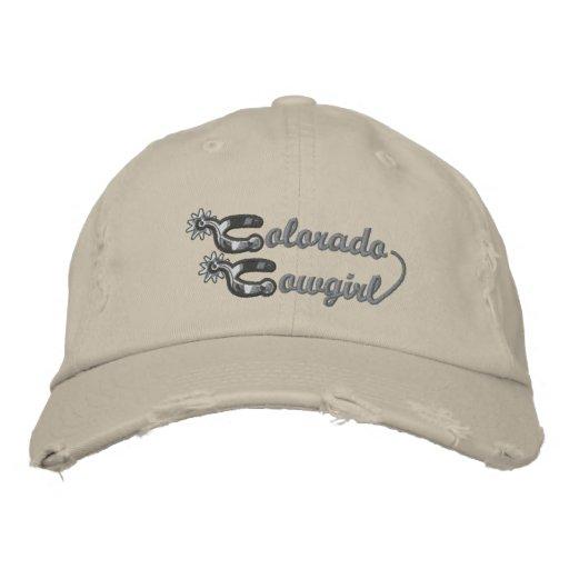 Chapéu bordado vaqueira de Colorado Bonés