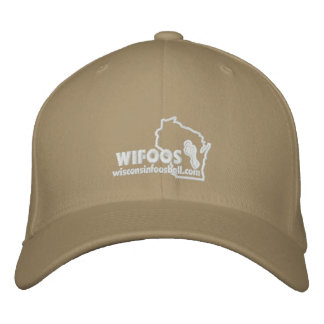 Chapéu cabido do esboço logotipo branco oficial boné bordado