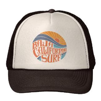 Chapéu californiano do camionista do vintage do boné
