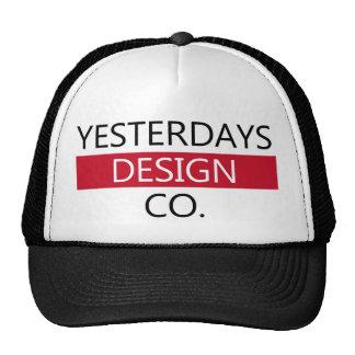 Chapéu cansado do co do design boné