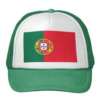 Chapéu com a bandeira de Portugal Boné