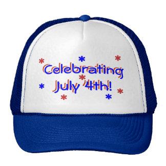 Chapéu - comemorando o 4 de julho boné