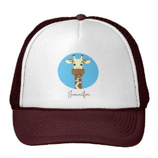 Chapéu conhecido azul dos desenhos animados boné