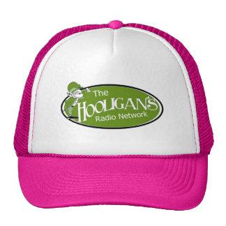 Chapéu cor-de-rosa do camionista boné