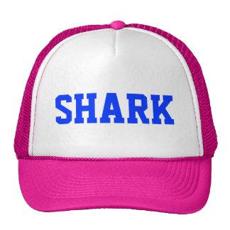 Chapéu cor-de-rosa do camionista do tubarão boné