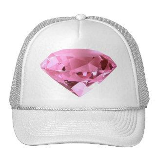 chapéu cor-de-rosa do diamante boné