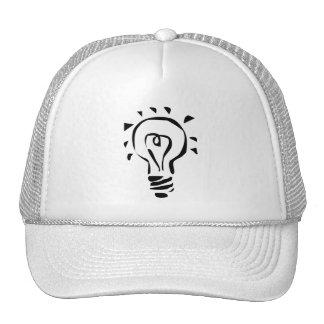 Chapéu criativo da ideia bonés