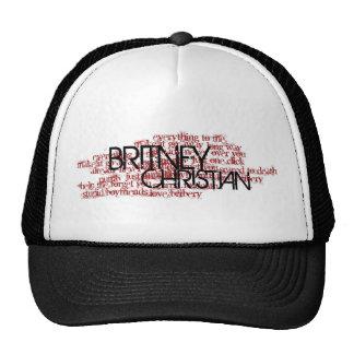 Chapéu cristão do nome da canção de Britney Bonés