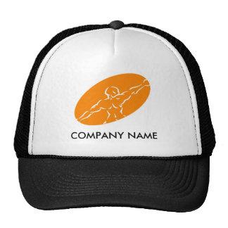 Chapéu customizável da malhação - laranja boné