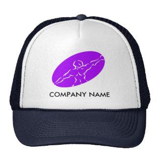 Chapéu customizável da malhação - roxo boné