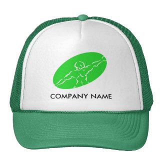 Chapéu customizável da malhação - verde boné