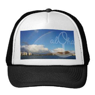 Chapéu da âncora da cabeça do diamante Aloha Boné