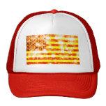 Chapéu da bandeira da bandeira dos Estados Unidos  Bonés