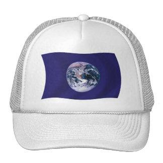Chapéu da bandeira da terra do planeta boné