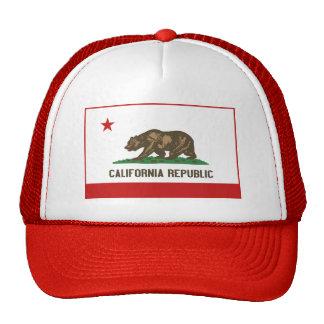 Chapéu da bandeira de Califórnia Boné