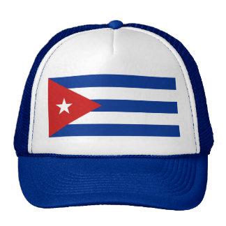 Chapéu da bandeira de Cuba Boné