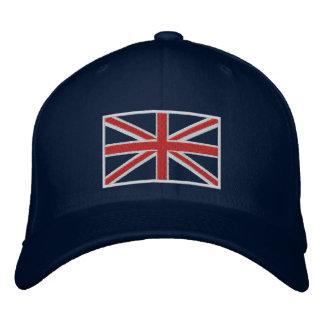 Chapéu da bandeira de Reino Unido Union Jack Boné Bordado