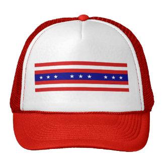Chapéu da bandeira dos Estados Unidos Boné