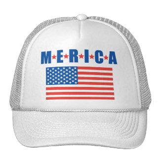 Chapéu da bandeira dos Estados Unidos de Merica Boné
