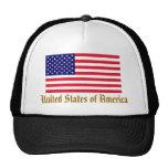 Chapéu da bandeira dos EUA Bone