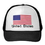 Chapéu da bandeira dos EUA Boné