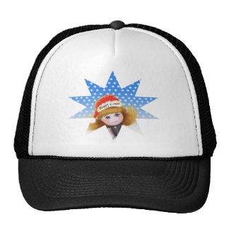 Chapéu da boneca dos desenhos animados do Feliz Boné