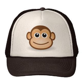 Chapéu da cara do macaco boné