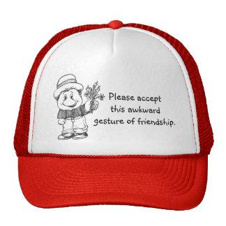 Chapéu da cara dos desenhos animados bones